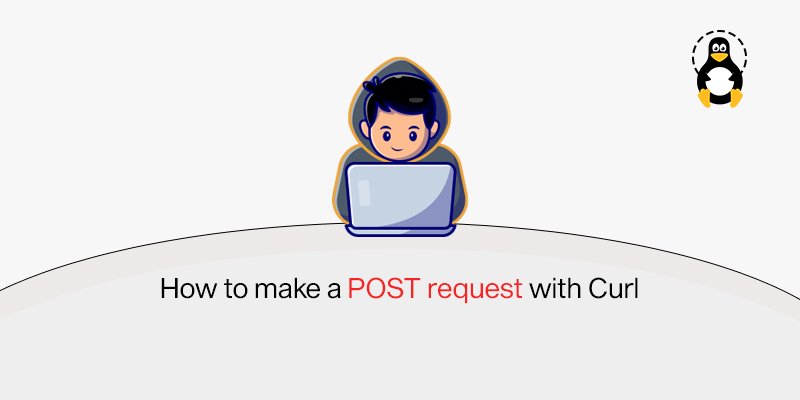How to make a POST request with curl